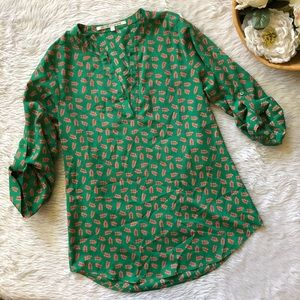 Collective Concepts Berry Blouse